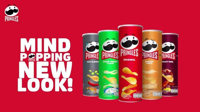 Pringles latest change - Mr.P's new look